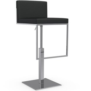 Great Price Even Plus Adjustable Height Swivel Bar Stool by Calligaris Reviews (2019) & Buyer's Guide