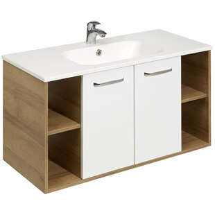Rovato 101cm Wall Mounted Vanity Unit By Quickset