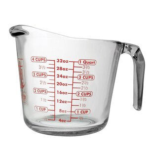 Review Anchor Glass Measuring Cup Set (Set of 3) By Anchor