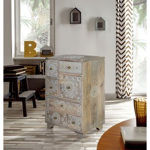 Lavender 7 Drawer Chest By World Menagerie