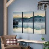 Quiet Morning - Multi-Piece Image on Canvas