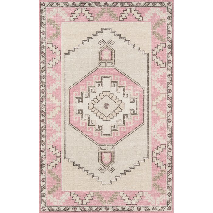 designs pink product kavka today garden dots free shipping overstock rug moroccan area home