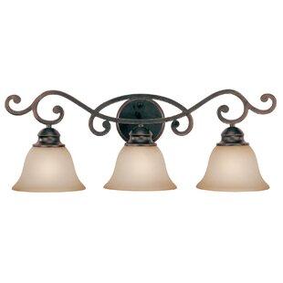 Fleur De Lis Living Charbonneau 3-Light Vanity Light