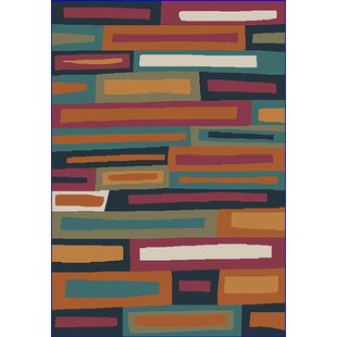 Look for Eclipse 3D Modern Contemporary Abstract Mocha/Black Area Rug ByPlanet Rugs