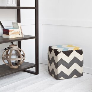 Ostrom Cube Ottoman by Wrought Studio