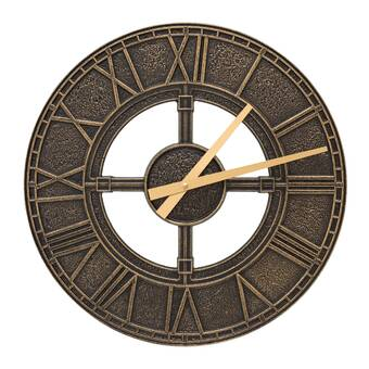 Ebern Designs Nunam Wall Clock Wayfair