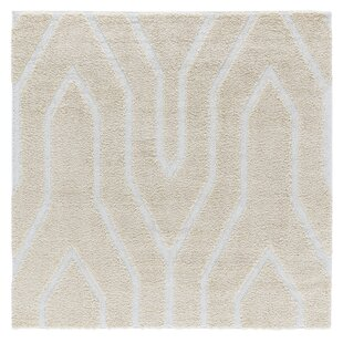 Read Reviews Artz Soft Beige/White Area Rug By Brayden Studio