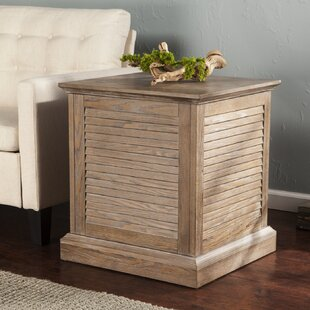 Adreanna Louvered Trunk End Ta..