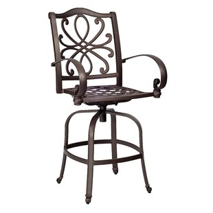 Holland Swivel Patio Bar Stool