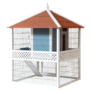 The Pagoda Rabbit Hutch
