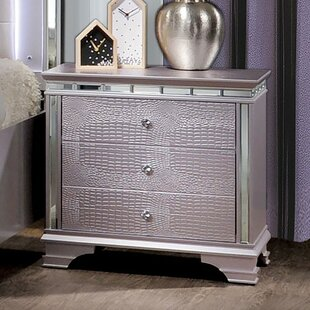 House of Hampton Askerby 3 Drawer Nightst..