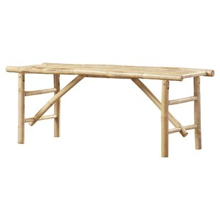 Bay Isle Home Porter Wood Folding Bench