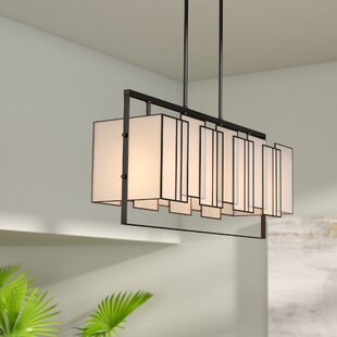 Brayden Studio Blackston 4-Light Kitchen Island Pendant