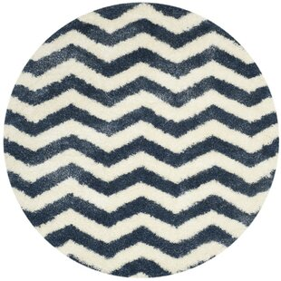 Kimberley Ivory/Blue Indoor/Outdoor Area Rug by Zipcode Design