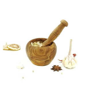 Olivewood Mortar and Pestle Set