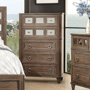 Massasoit 5 Drawer Chest by Millwood Pines