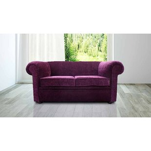 Gaines 2 Seater Chesterfield Sofa By Rosdorf Park