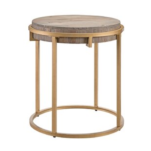 Hico End Table by Ivy Bronx