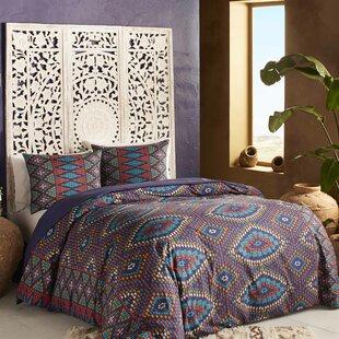 3 Piece Berber Textile Duvet Set. By Blissliving Home