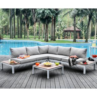 Coriander 3 piece Sectional Seating Group with Cushions
