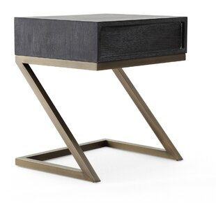 Radtke Black Side Table by Brayden Studio