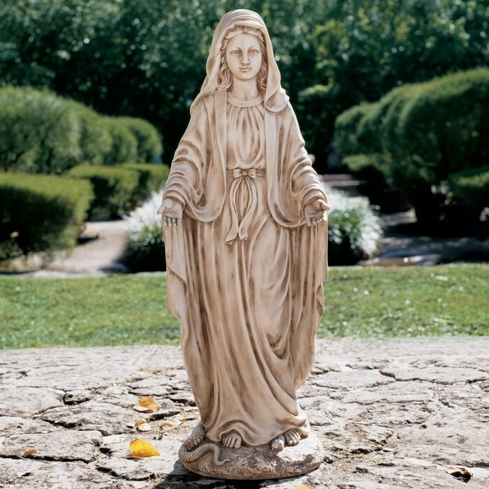 Madonna Blessed Mother Garden Statue