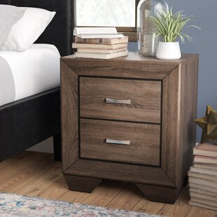 Barnsdall 2 Drawer Nightstand by Trent Austin Design