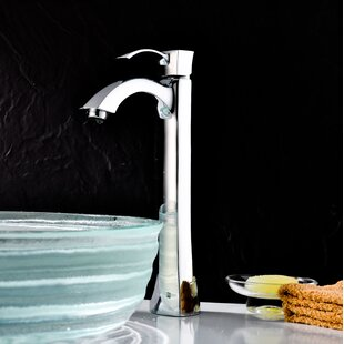 ANZZI Harmony Vessel Sink Faucet with Drain Assembly