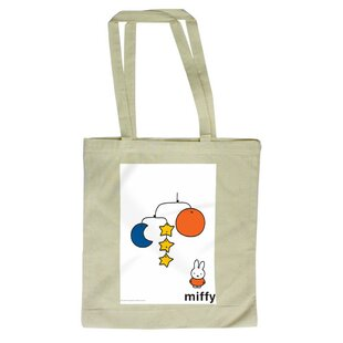 Miffy With A Star, Moon And Planet Mobile Tote Bag By Mercury Row