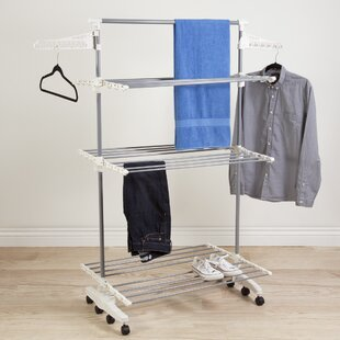 the racks aluminum laundry container polder accessories for store clothes rack s drying