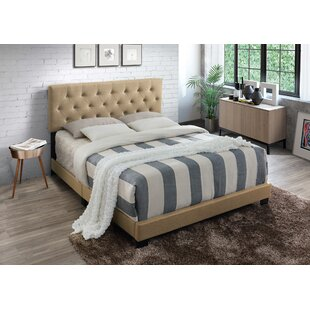 Aliyah Upholstered Panel Bed by Alcott Hill