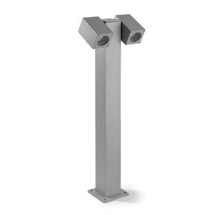 Elza Twin Head 2 Light 80cm Post Lantern Set By Sol 72 Outdoor