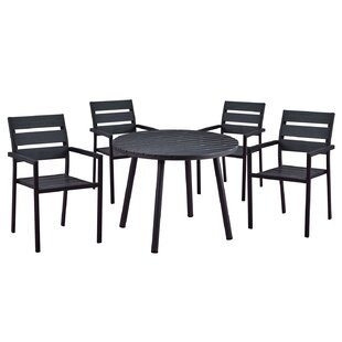 Wrought Studio Galles Modern Contemporary 5 Piece Dining Set