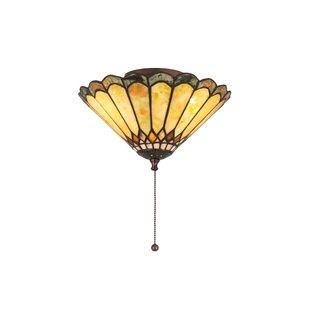 Weissman Carousel 3-Light Semi Flush Mount by Astoria Grand