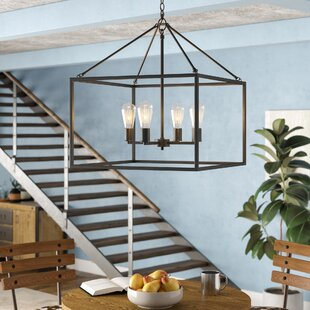 Williston Forge 4-Light Lantern Pendant
