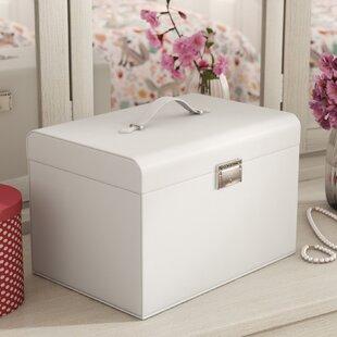 Reviews Small Lockable Jewelry Box ByEbern Designs