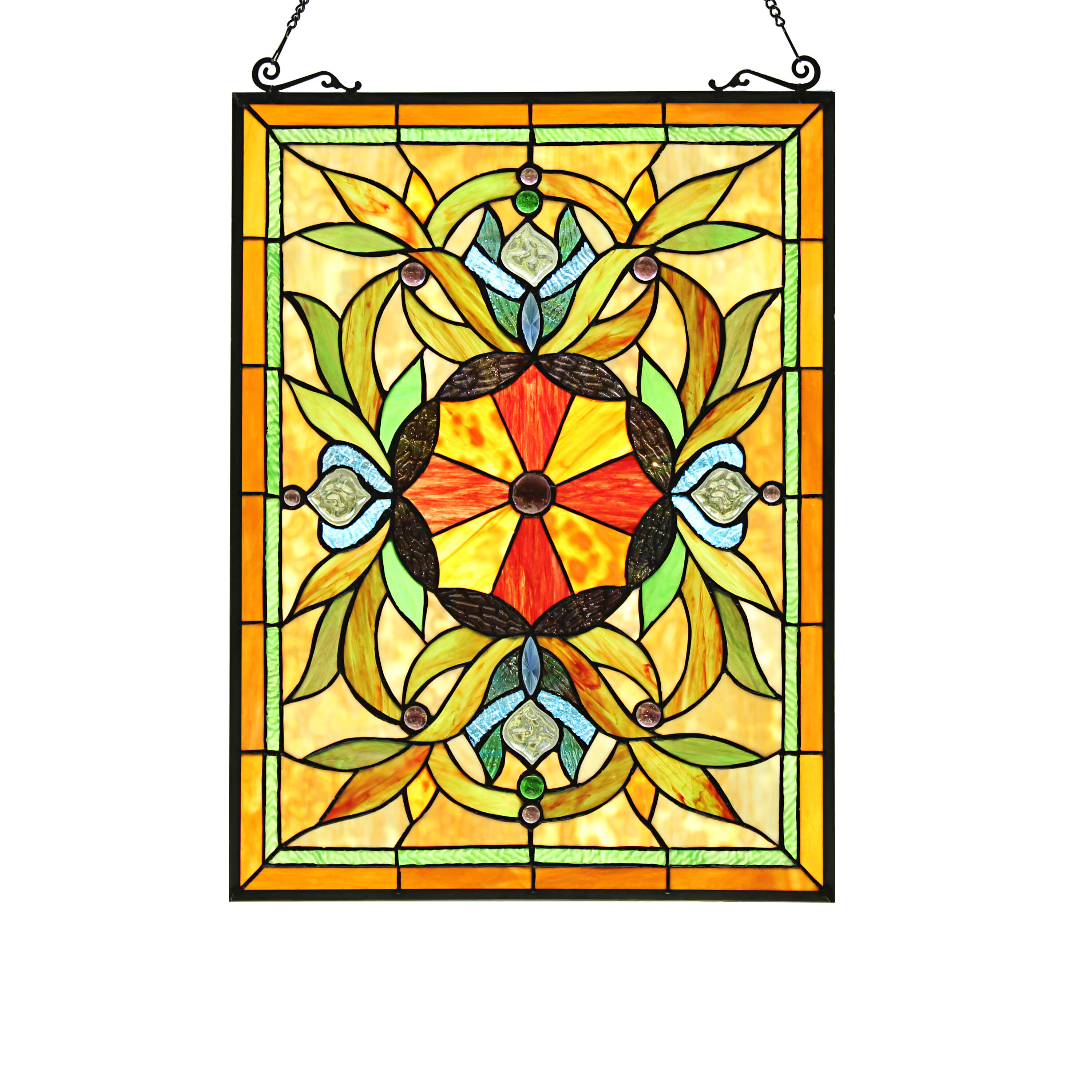 Tiffany Lamps Stained Glass Panels You Ll Love In 2021 Wayfair