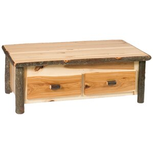Hickory Coffee Table by Fi..