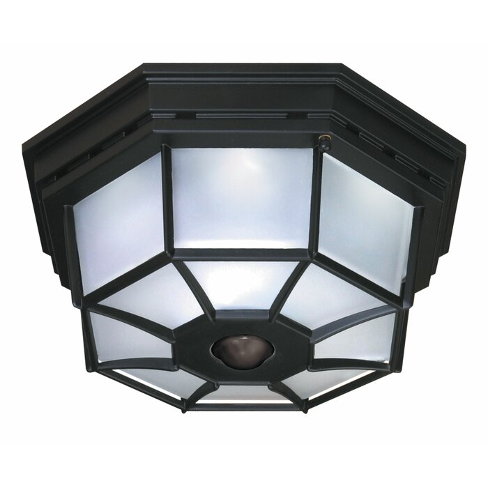 Heath zenith 4 light octagonal flush mount with motion sensor 4 light octagonal flush mount with motion sensor aloadofball Images