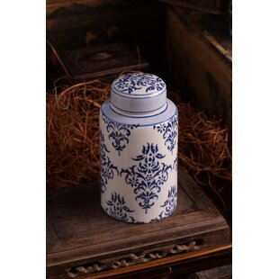 Ceramic Baroque 0.75 qt. Kitchen Canister