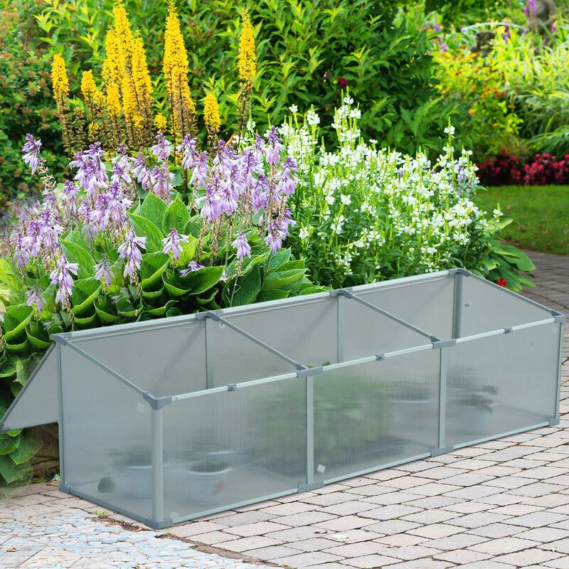Sol 72 Outdoor Damian 6 Ft W X 1.7 Ft D Cold-Frame