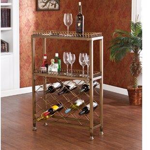 Gerdie 25 Bottle Floor Wine Rack
