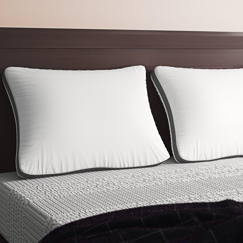 Alwyn Home Isadora Plush Fiber Bed Pillow Reviews Wayfair
