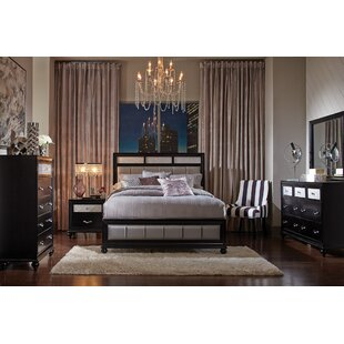 House of Hampton Lawlor Upholstered Panel Bed
