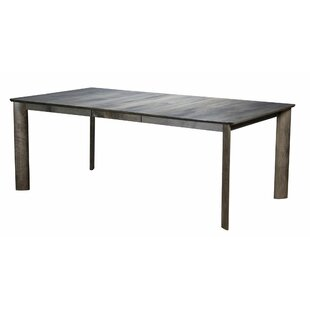 Marydel Extendable Solid Wood Dining Table Union Rustic
