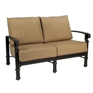 Spartan Loveseat by Woodard Wonderful