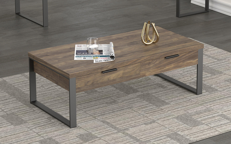 - Union Rustic Coffee Table Aged Walnut Wayfair
