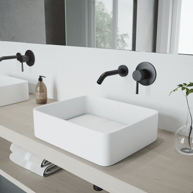 Vigo Olus Wall Mounted Bathroom Faucet