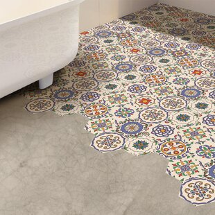 Fl Hexagon 20cm X 23cm Pvc L Stick Mosaic Tile Set Of 10