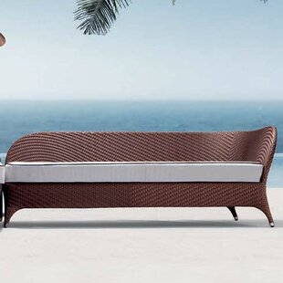 Flora Left Corner Daybed Sectional Piece with Cushion by 100 Essentials